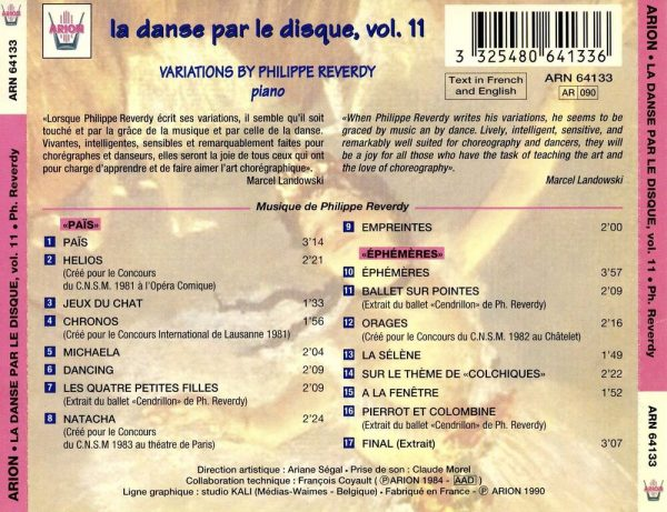 La danse par le disque Vol.11 - Variations