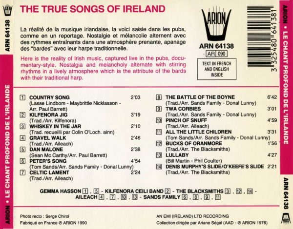 Le Chant profond de L'Irlande