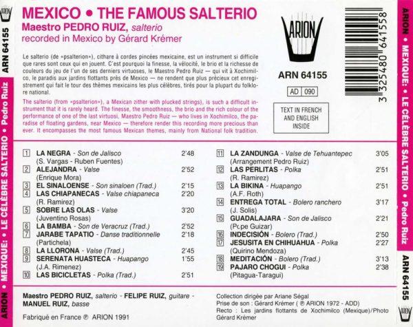 Mexique - Le celèbre Salterio