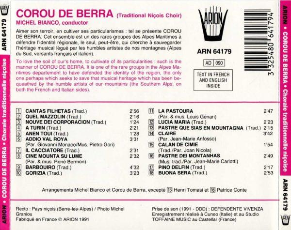 """""""Corou de Berra - """"""""Peluenia"""""""""""""""