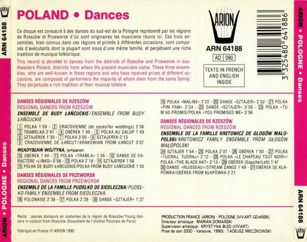 Pologne - Danses