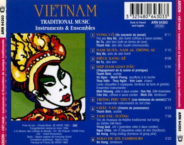 Viet-Nam - Instruments & Ensembles de Musique Traditionnelle