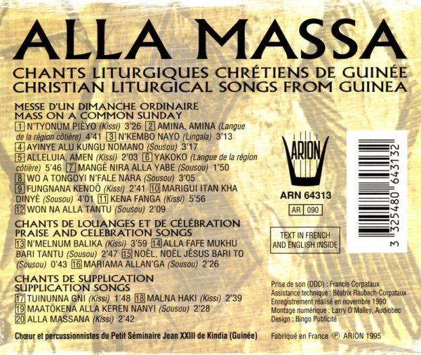 Alla Massa - Chants liturgiques chrétiens de Guinée
