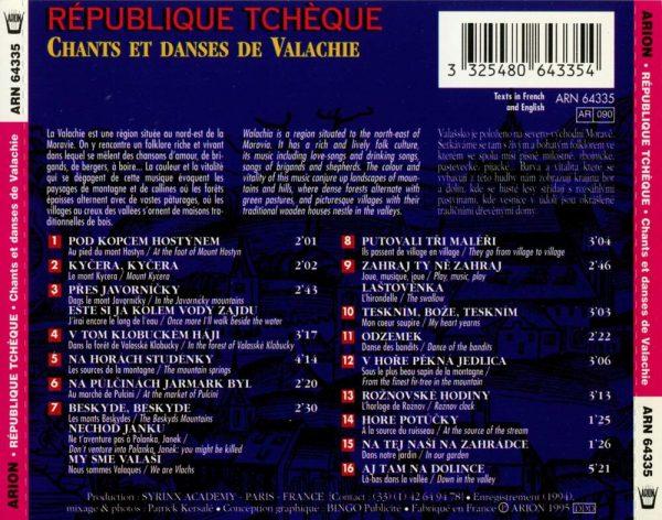 République Tchèque - Chants et danses de Valachie