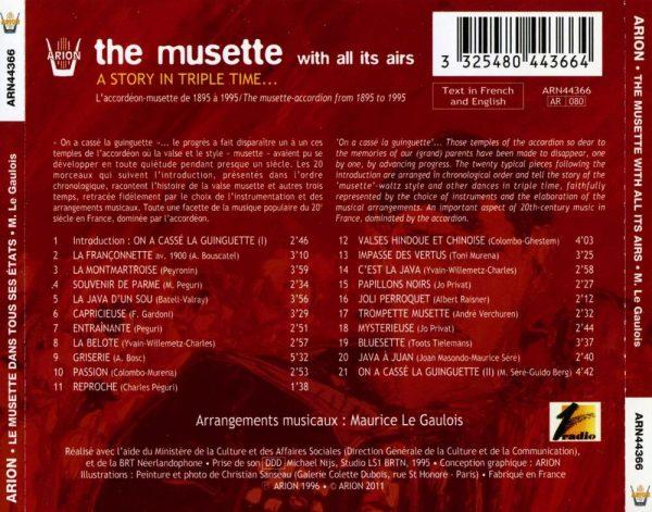 Le Musette dans tous ses états - Une histoire du trois temps...