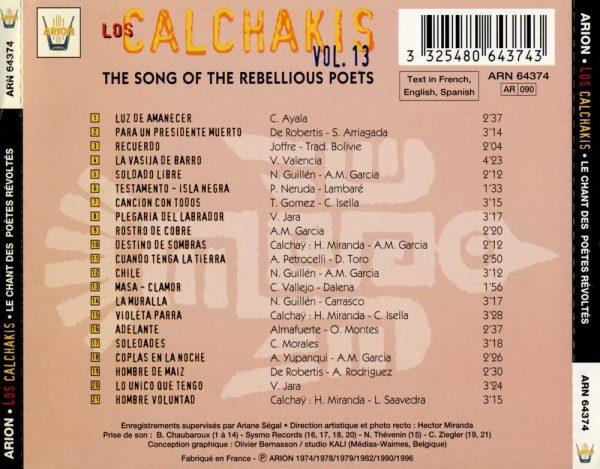 Los Calchakis Vol.13 - Le Chant des poètes révoltés
