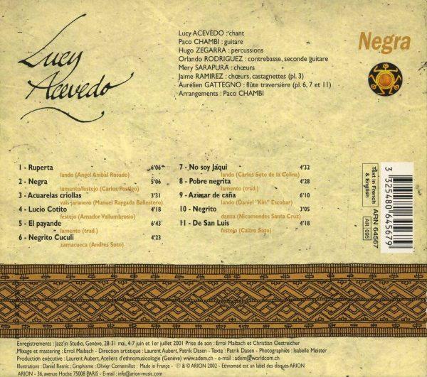 Negra - Pérou - Vol.4