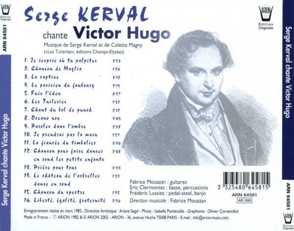 Serge Kerval Chante Victor Hugo...
