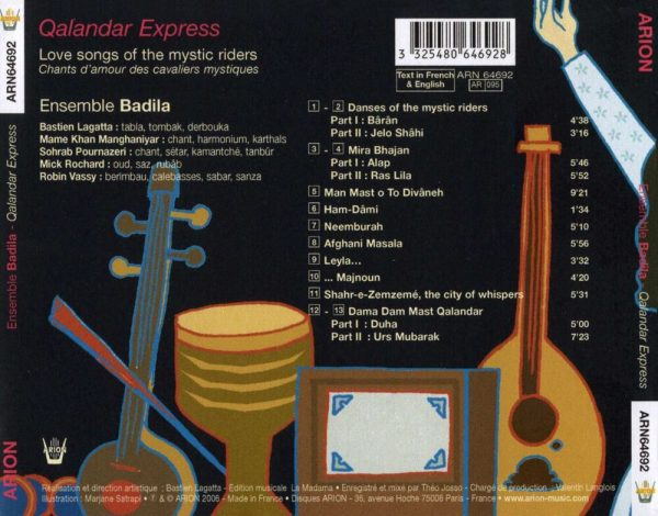 Qalandar Express - Love Songs of the Mystic Riders