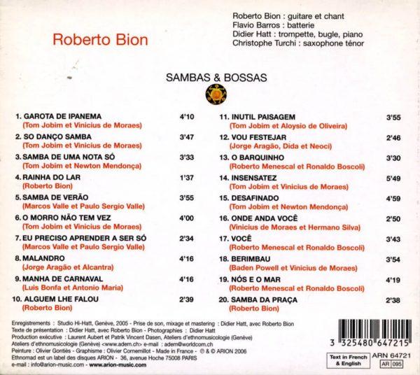 Sambas & Bossas - Brésil - Vol.16
