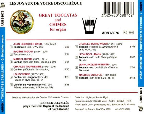 Grandes Toccatas & Carillons pour Orgue