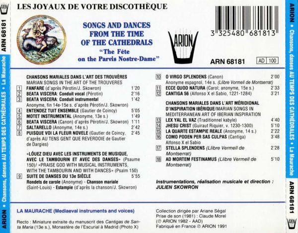 """""""Chansons et Danses au Temps des Cathédrales - """"""""La Fête sur le Parvis de Notre-Dame"""""""""""""""