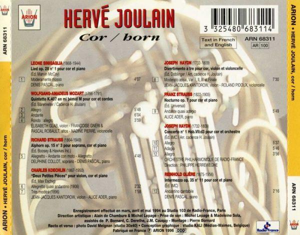 Hervé Joulain Invite ...
