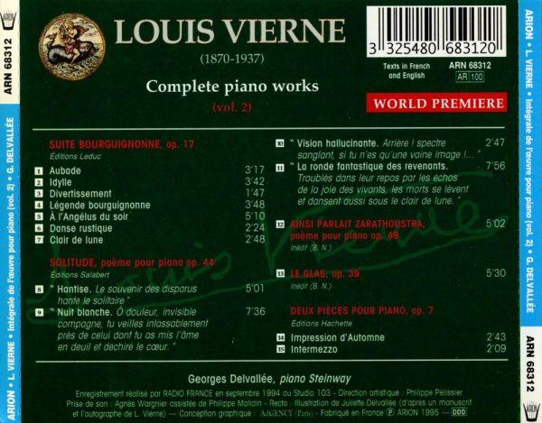 Vierne - Intégrale de l'Œuvre pour piano - Vol.2