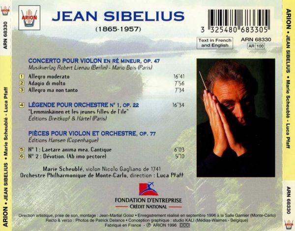 Sibelius par Marie Scheuble