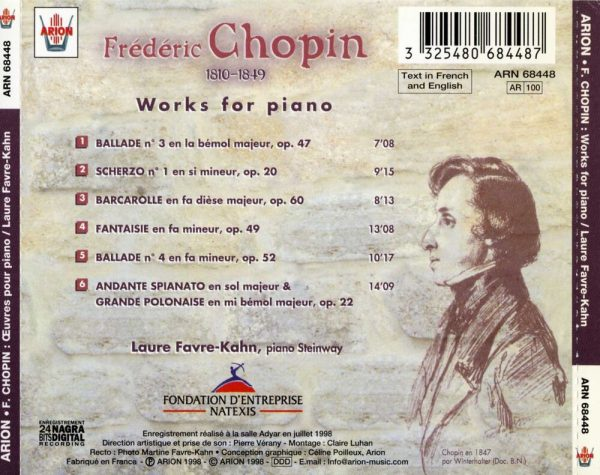Chopin - Œuvres pour piano