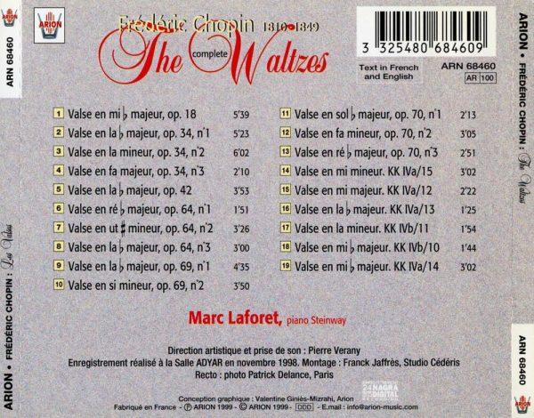 Chopin - Intégrale des Valses