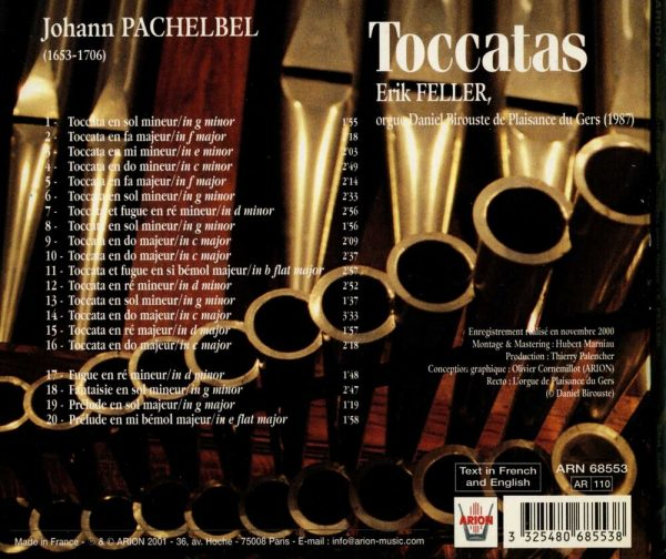 Pachebel - Les Toccatas...