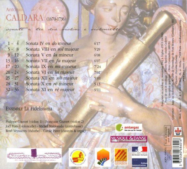 Caldara - Sonate a Tre