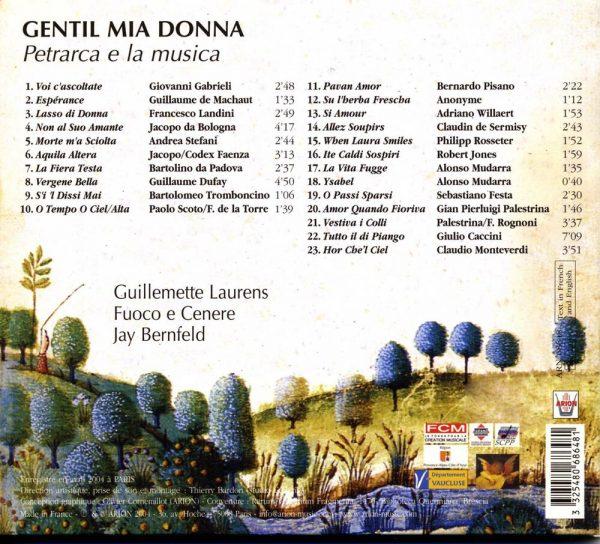 Gentil Mia Donna - Petrarca e la Musica