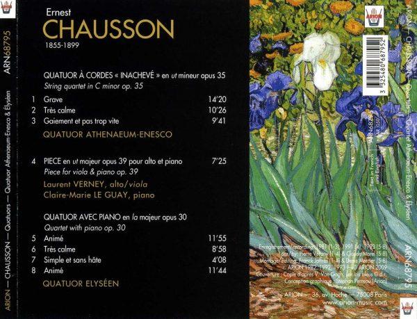 """""""Chausson - """"""""Un portrait"""""""""""""""