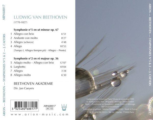 Beethoven - Symphonies N° 5 & N°2 - Vol.1