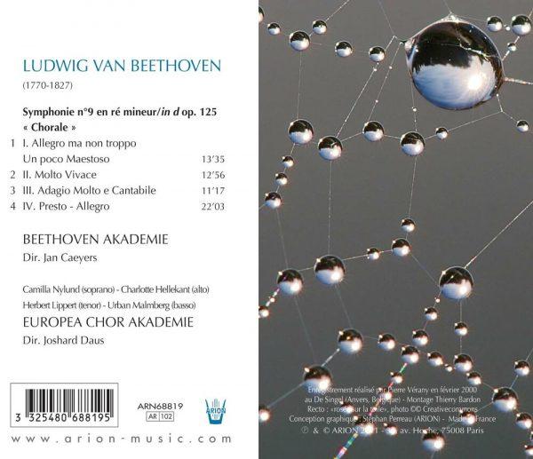 Beethoven - Symphonies N° 9 - Vol.3