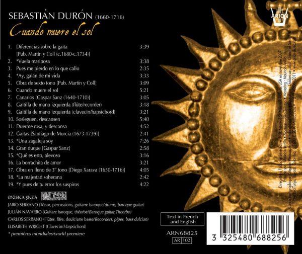 Duron - Cuando muere el sol