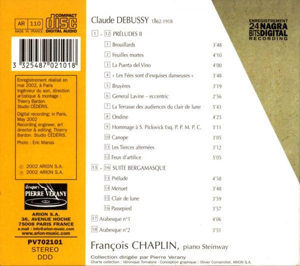 Debussy - L'Œuvre pour piano - Vol.3