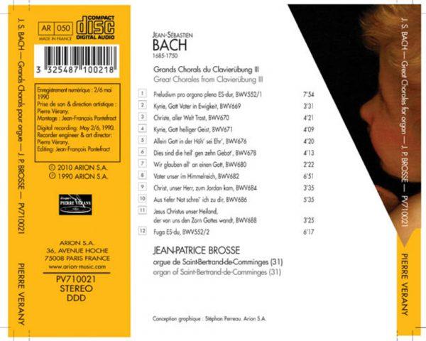 Bach J.S. - Clavierubung III - Grands Chorals
