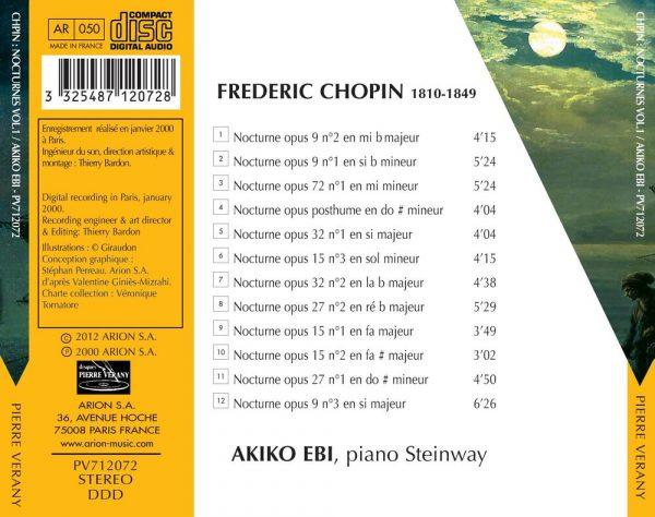 Chopin - Nocturnes - Vol.1