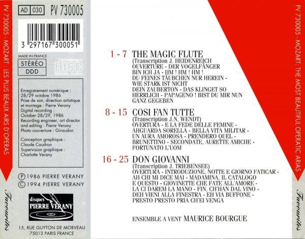 Mozart - Les plus beaux airs d'opéra