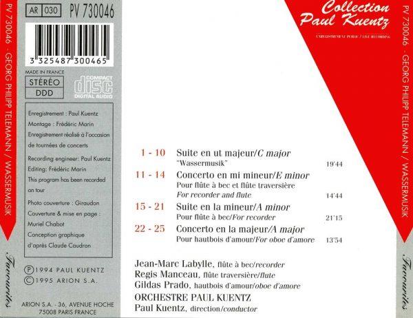 Telemann - Wassermusik - Suites & Concertos