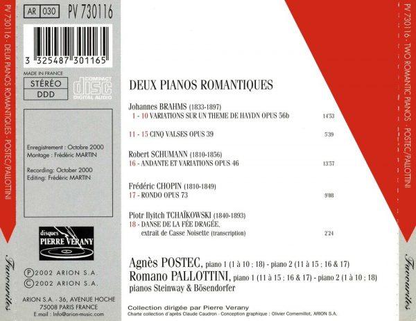 Deux Pianos Romantiques
