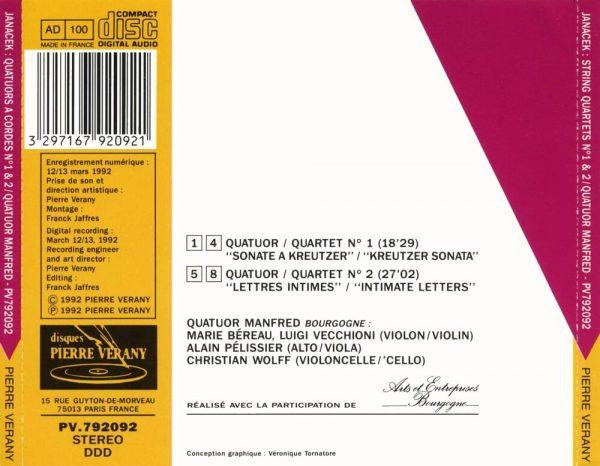 Janacek - Quatuors à cordes