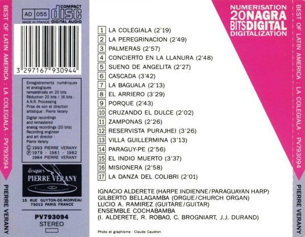 Best of Latin America - La Colegiala