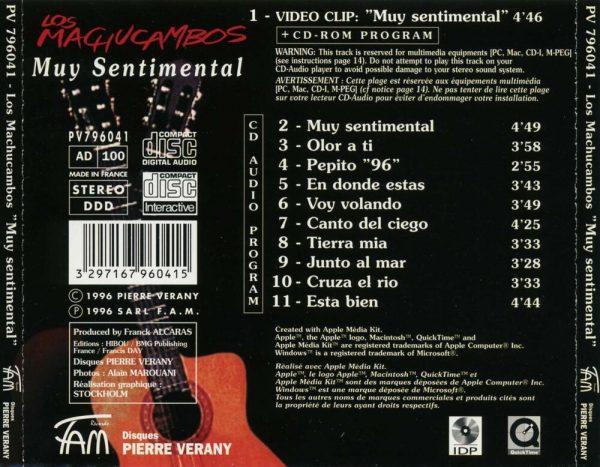Los Machucambos - My Sentimental