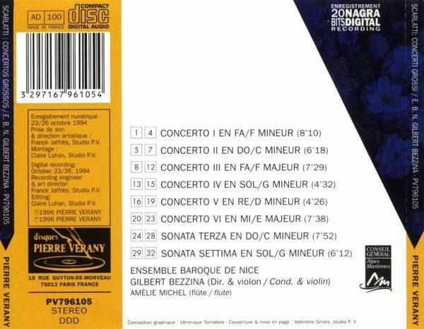 Scarlatti - Intégrale des concertos grossos