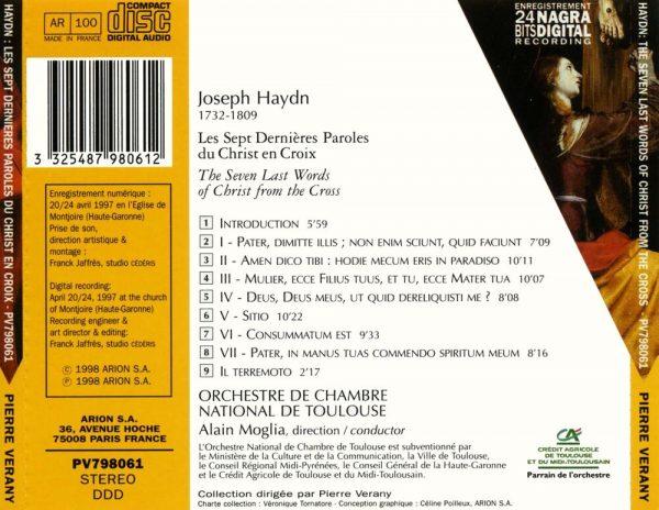 Haydn - Les sept dernières paroles du Christ en croix