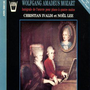 Mozart - Intégrale de L'Œuvre pour piano à 4 mains